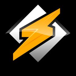 Winamp dock icon-white