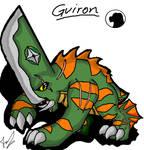 Godzilla Animated: Guiron