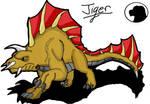 Godzilla animated: Jiger