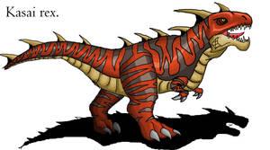 Legends reborn: Kasai Rex by Blabyloo229