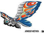 Godzilla Animated:Armor mothra