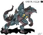 Godzilla Animated:Cyber-Zilla