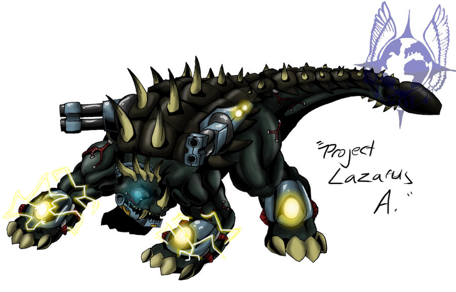 Kaiju Wars: Project Lazarus by Blabyloo229