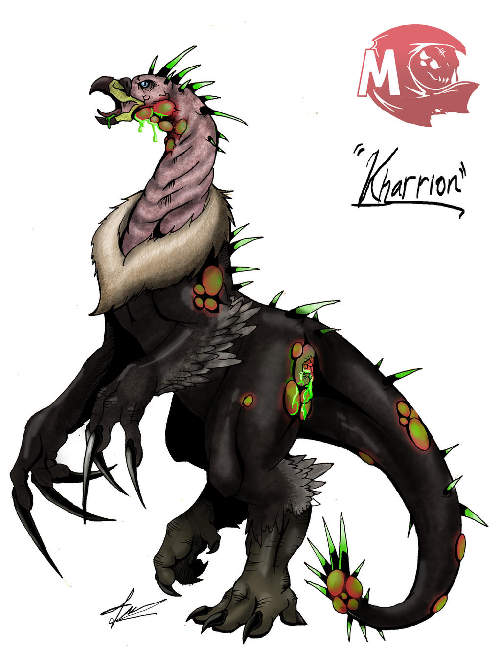 Kaiju Wars: Kharrion by Blabyloo229