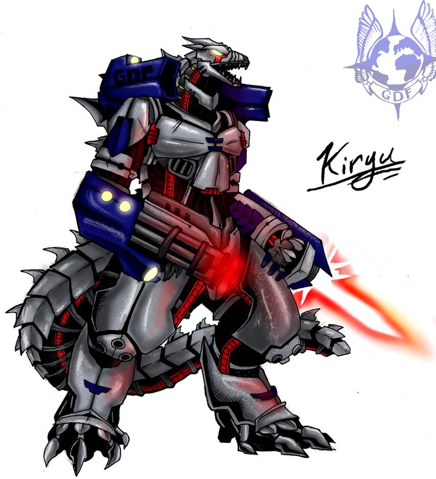 Kaiju Wars: Kiryu by Blabyloo229