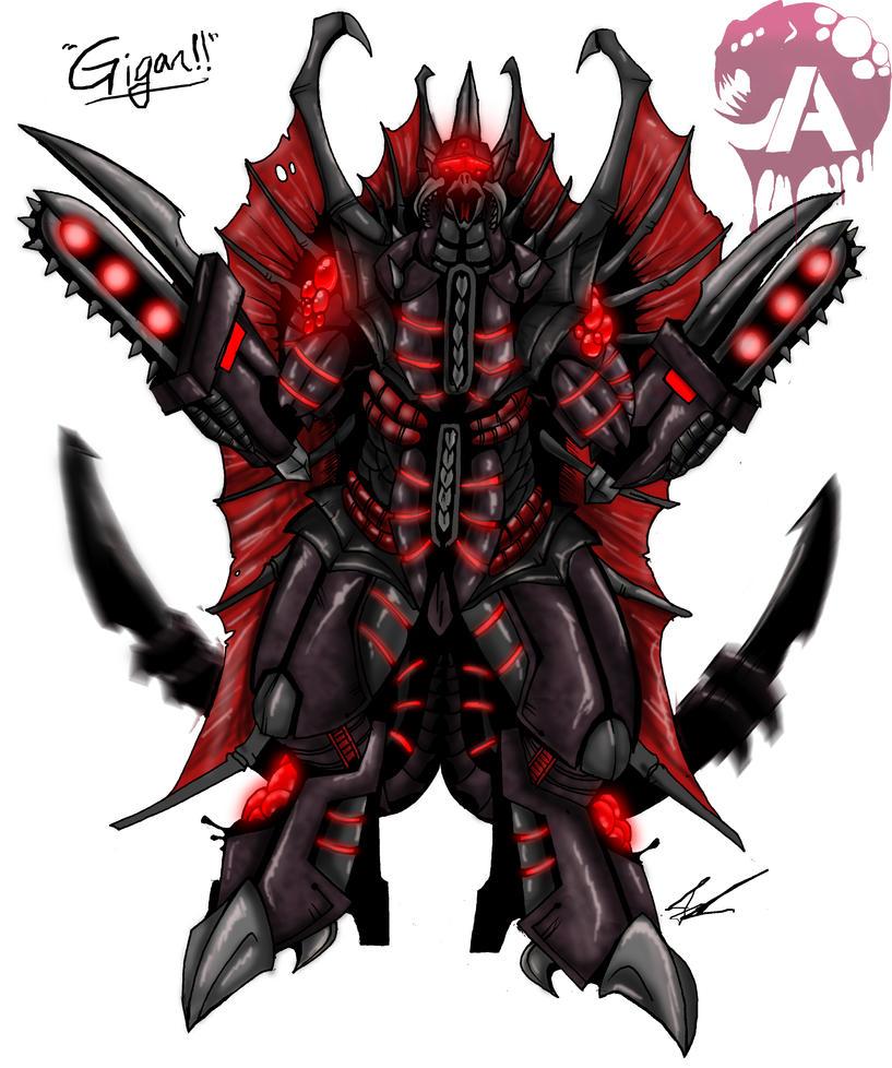 Kaiju Wars: Gigan by Blabyloo229