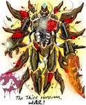 Kaiju Wars: The Third Horseman, War