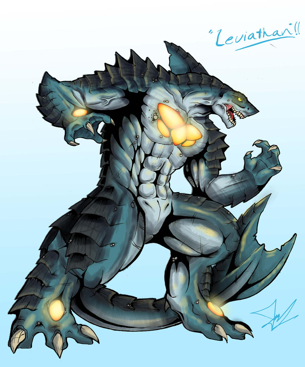 Kaiju Wars: The Leviathan by Blabyloo229