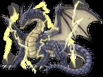 Commission: Uniboton Blue Dragon
