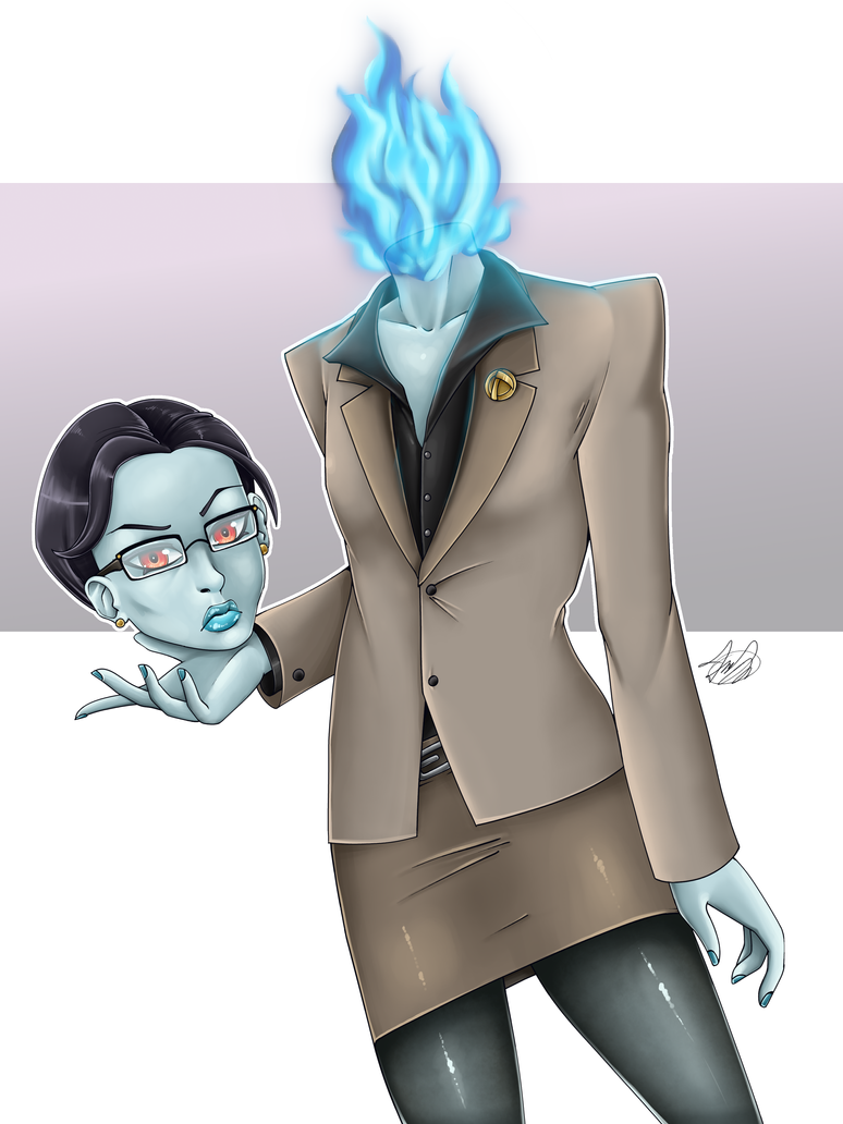 MG: Reaper, Business Formal by Blabyloo229