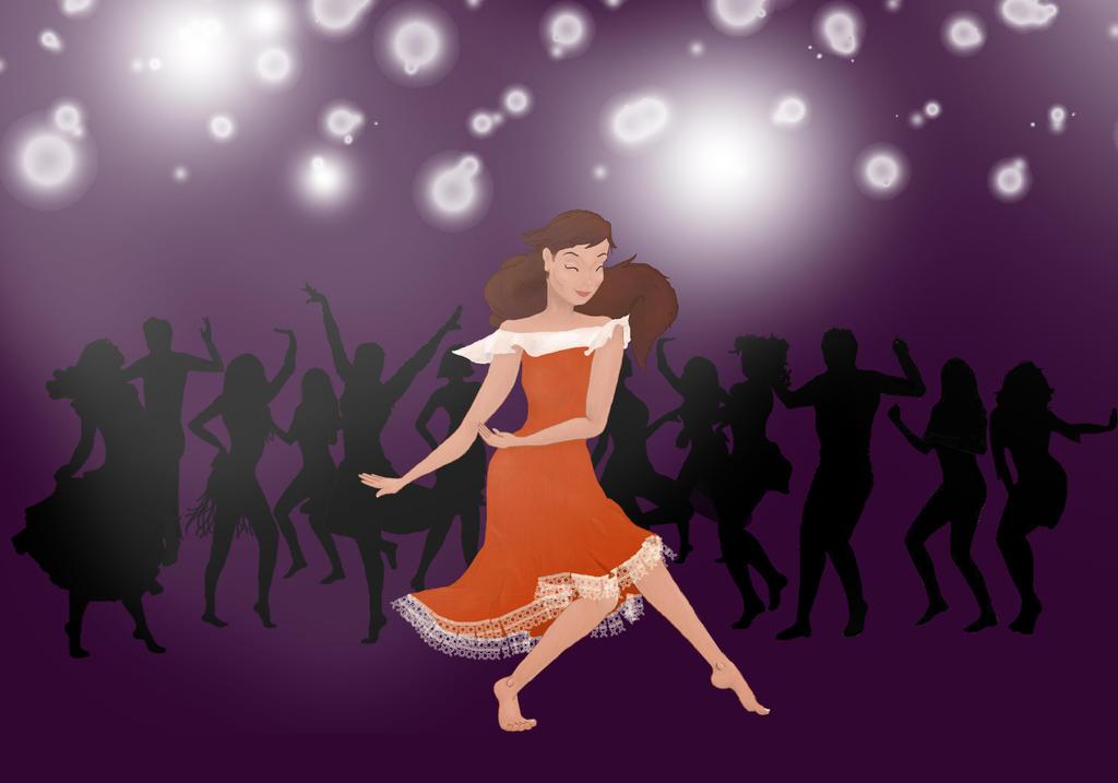 Dancing Lady by Bitsit