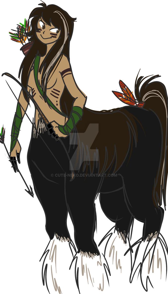 wild centaur by cute-neko