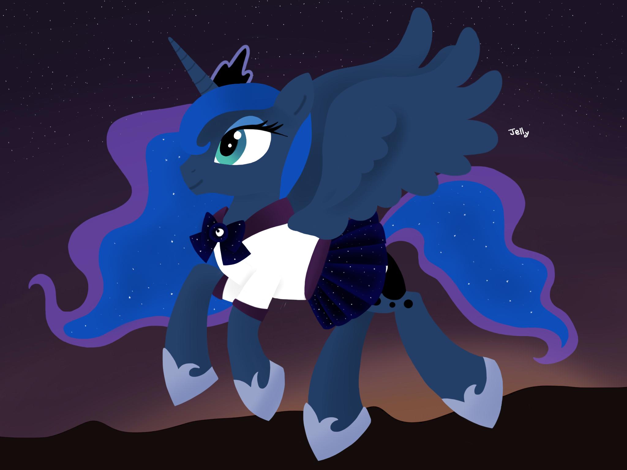 Sailor Luna by TeamBlueCoin on DeviantArt