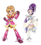Pretty Cure Splash Star - New Stage 2 Poses