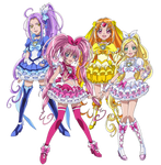 Suite Pretty Cure - New Stage 2 Poses