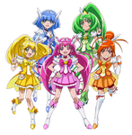 Smile Pretty Cure - New Stage 2 Poses