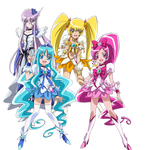 HeartCatch Pretty Cure - New Stage 2 Poses