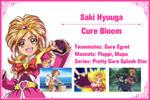 Cure Bloom Info Card