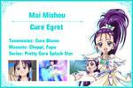 Cure Egret Info Card