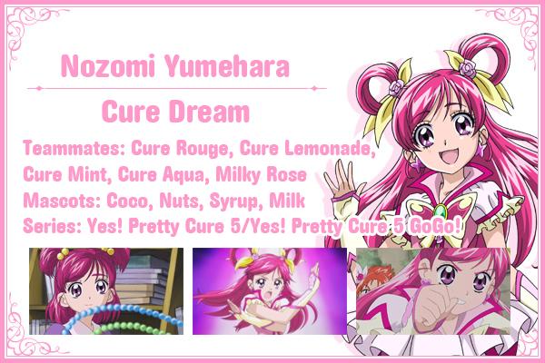 Cure Dream Info Card by frogstreet13
