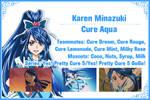Cure Aqua Info Card