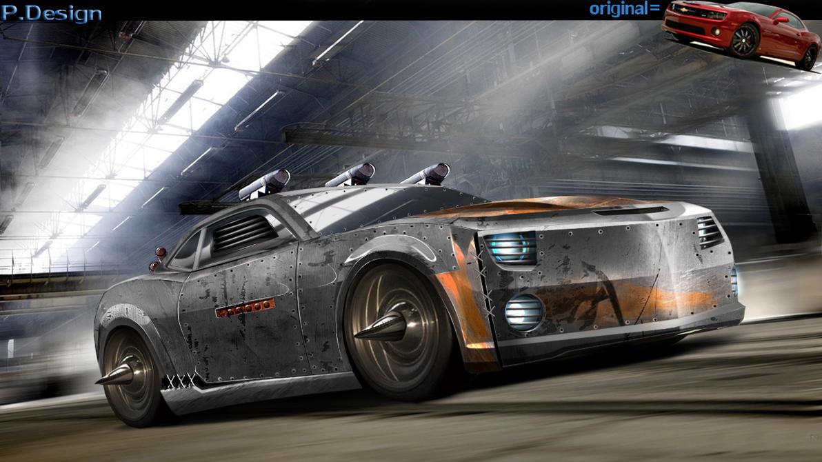 death and race car