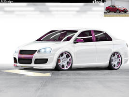 Vw Jetta White