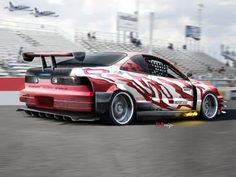 Honda Integra Race Legend by mateus12345