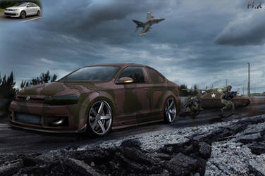 Vw Jetta Military edition by mateus12345