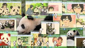 Panda Shimeji by Kechuppika