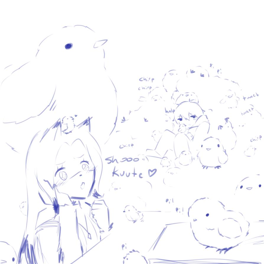 Stream Sketch 81 by Kechuppika