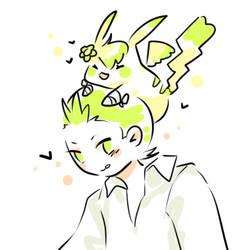 AT: Green buds