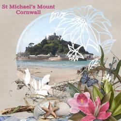 St-Michaels-Mount by AudrajScraps