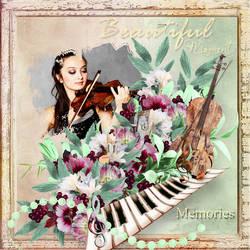 Musical Memories by AudrajScraps