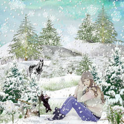 Winterland Wonder by AudrajScraps