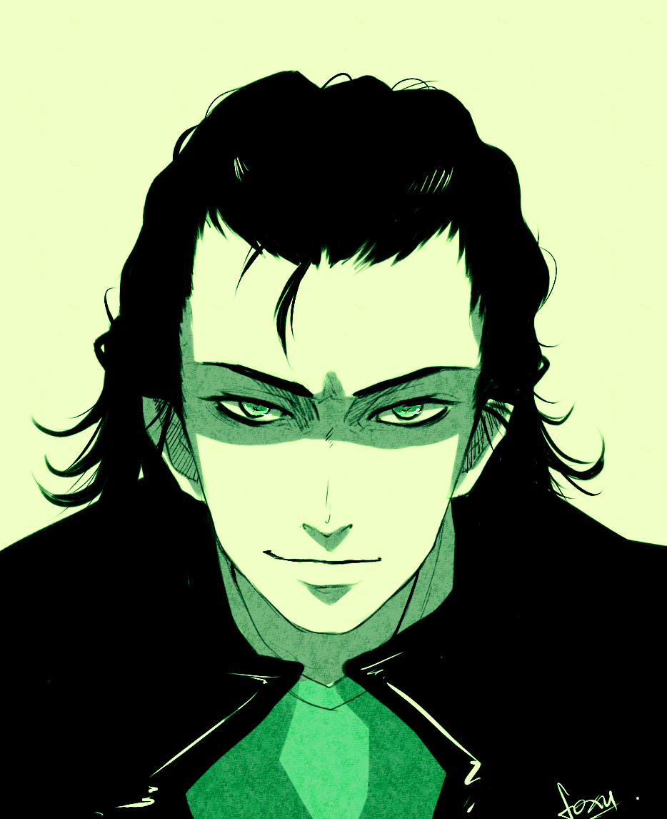 Loki is evvvvl by akaibelier on DeviantArt