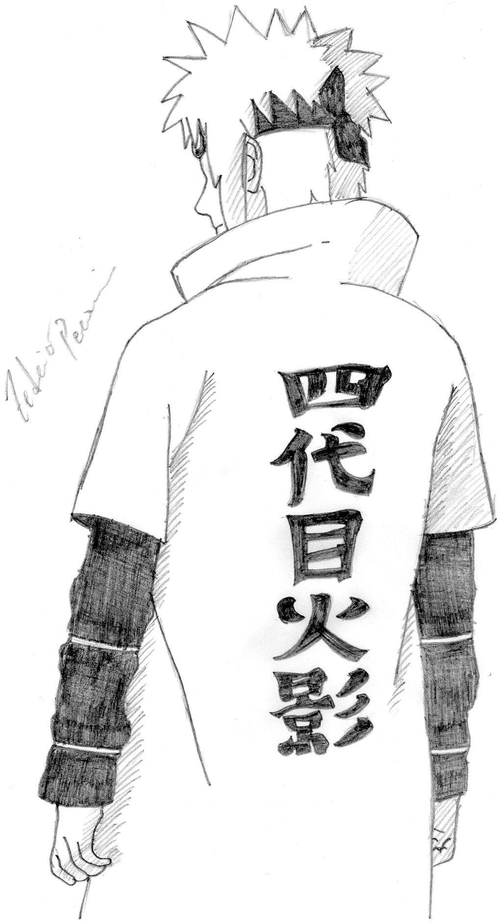 Minato Namikaze by Malki0r on deviantART