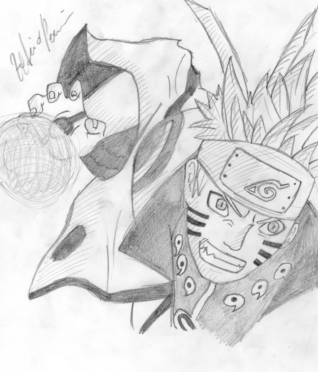 124 Sketsa Gambar Anime Kyubi Sketsa