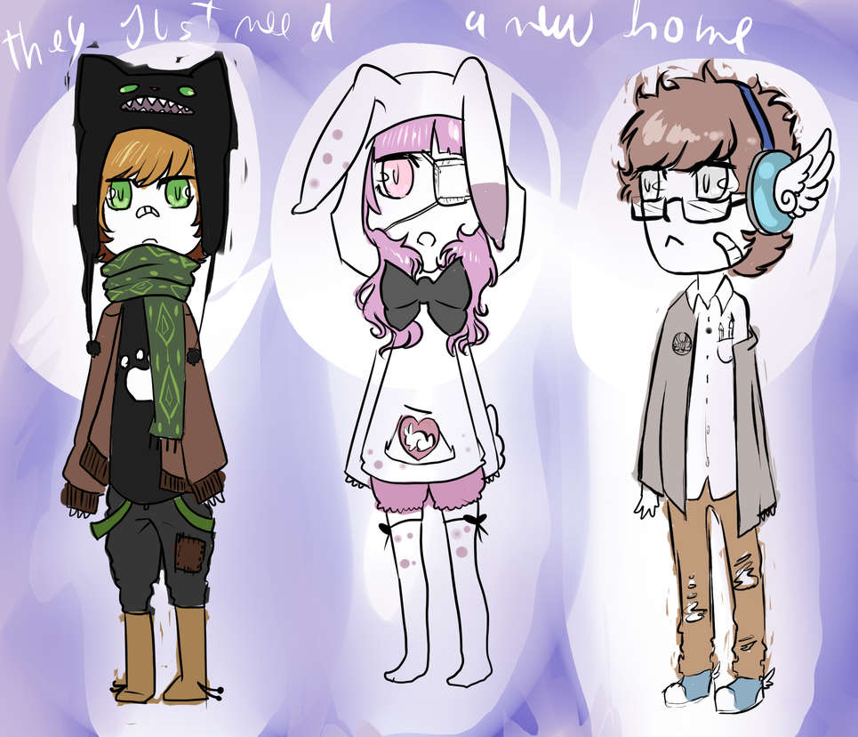 Adoptables cute :D by ixpipoca