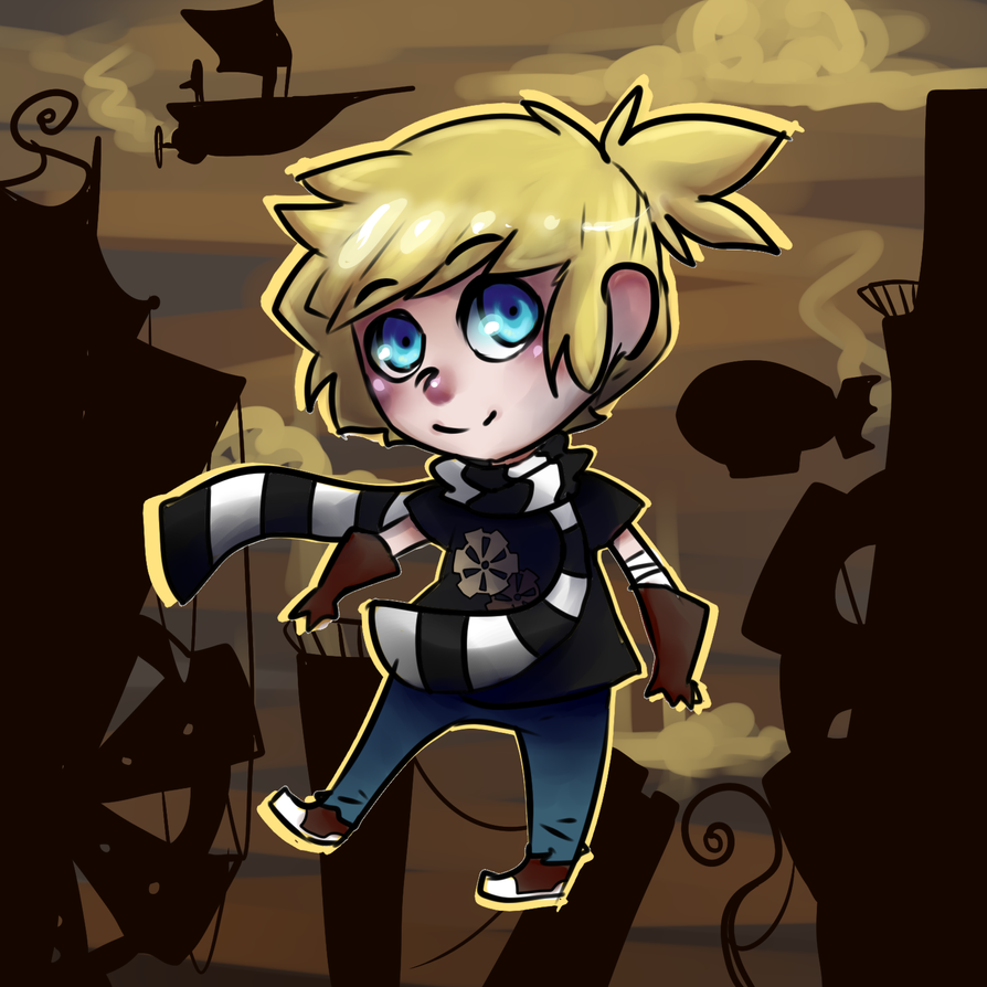 steampunk chibi commission by ixpipoca