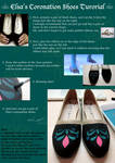Elsa's Coronation Shoes Tutorial