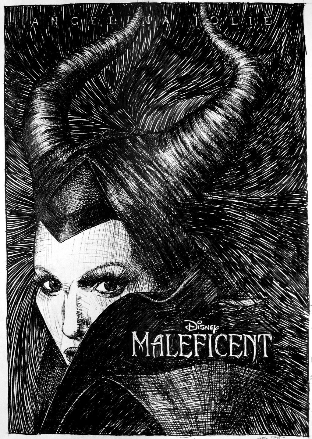 maleficent movie poster by pisces219320 on deviantart