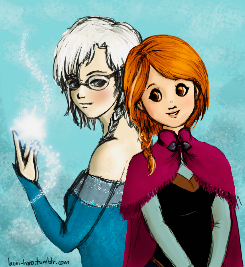 Frozen+SnK Crossover By LaHaRo On DeviantArt