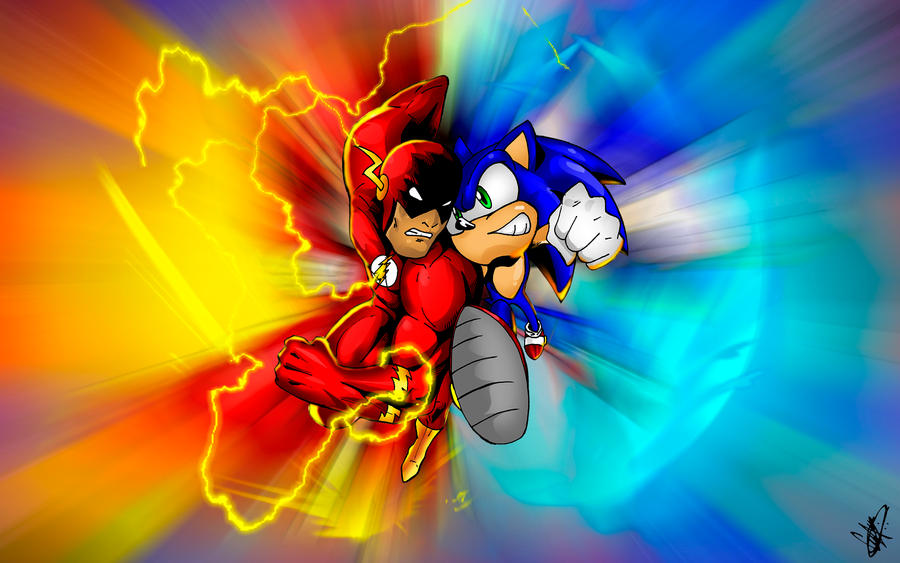 the flash sonic the hedgehog