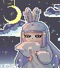 Sleeppy OC Asutaru pixels by k-a-t-s-u-n-e
