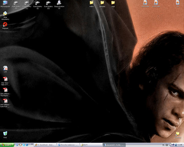 Ani on  ma Desktop by sylviajohns