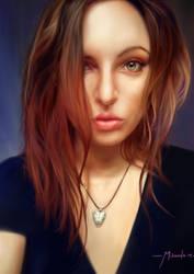 Nixie Pixel portrait by TheShock