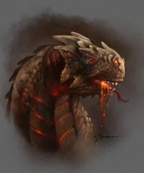 Dragon head by TheShock