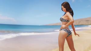 Zara Beach Babe by forged3DX