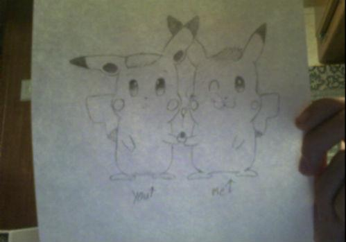 pikachus again by CaseyHunt
